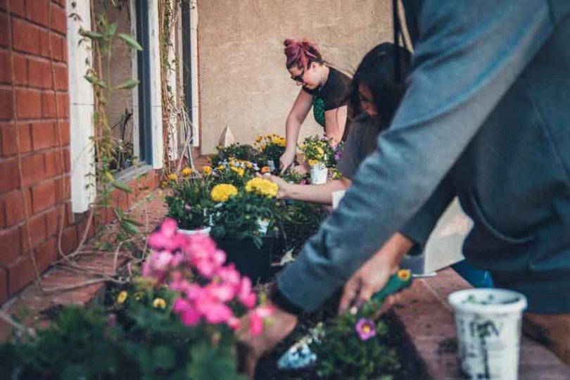 gardening makes people happy